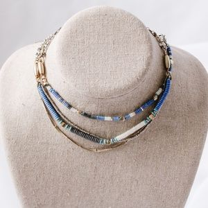 Stella&Dot - Mixed Beaded Necklace
